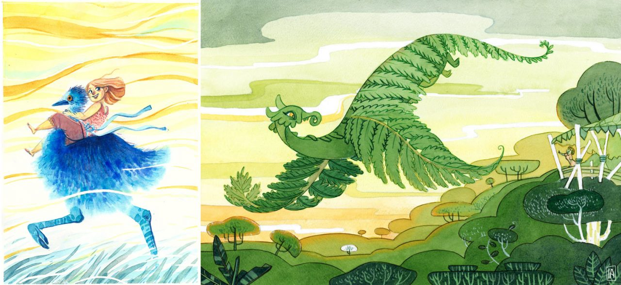 best children's book illustrators - isabelle