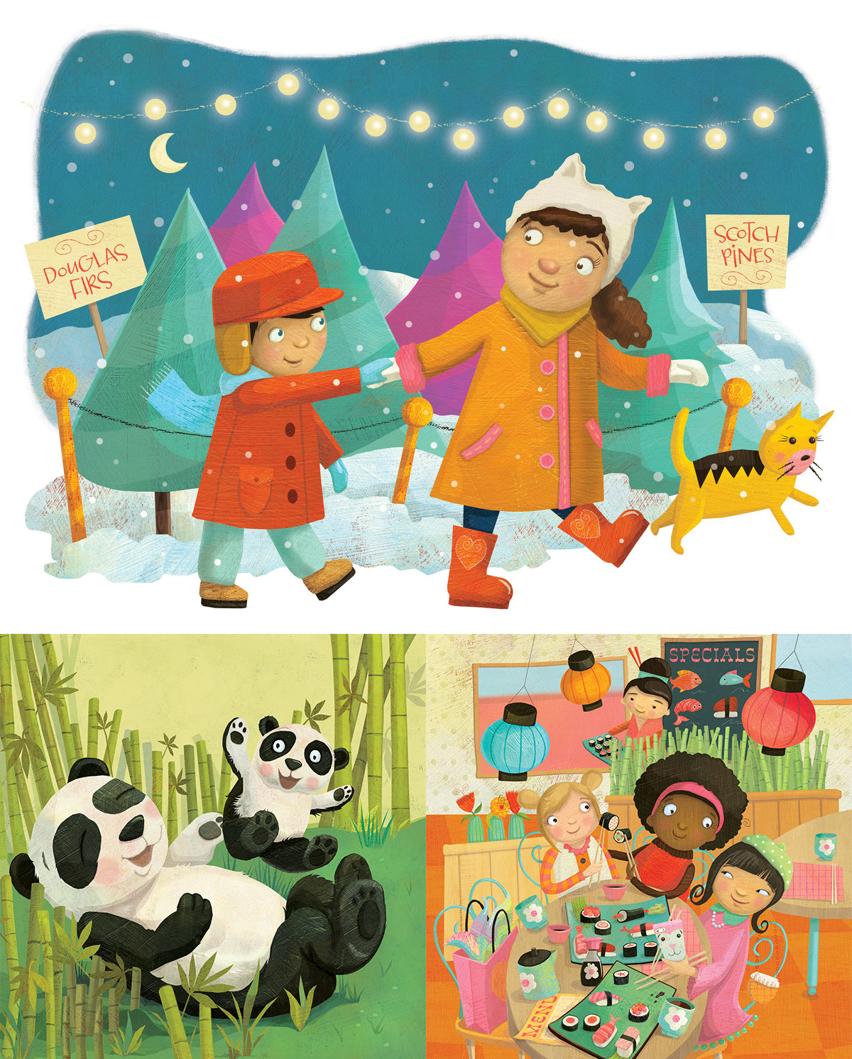 best children's book illustrators - laura watson