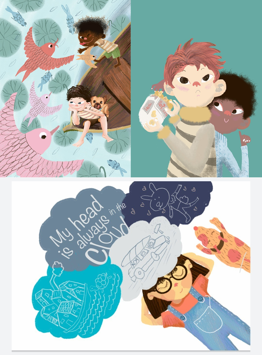 best children's book illustrators - lisa wee