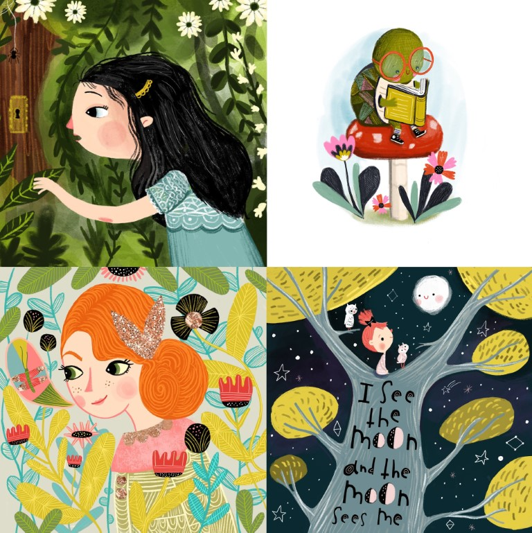 best children's book illustrators - sandie sonke