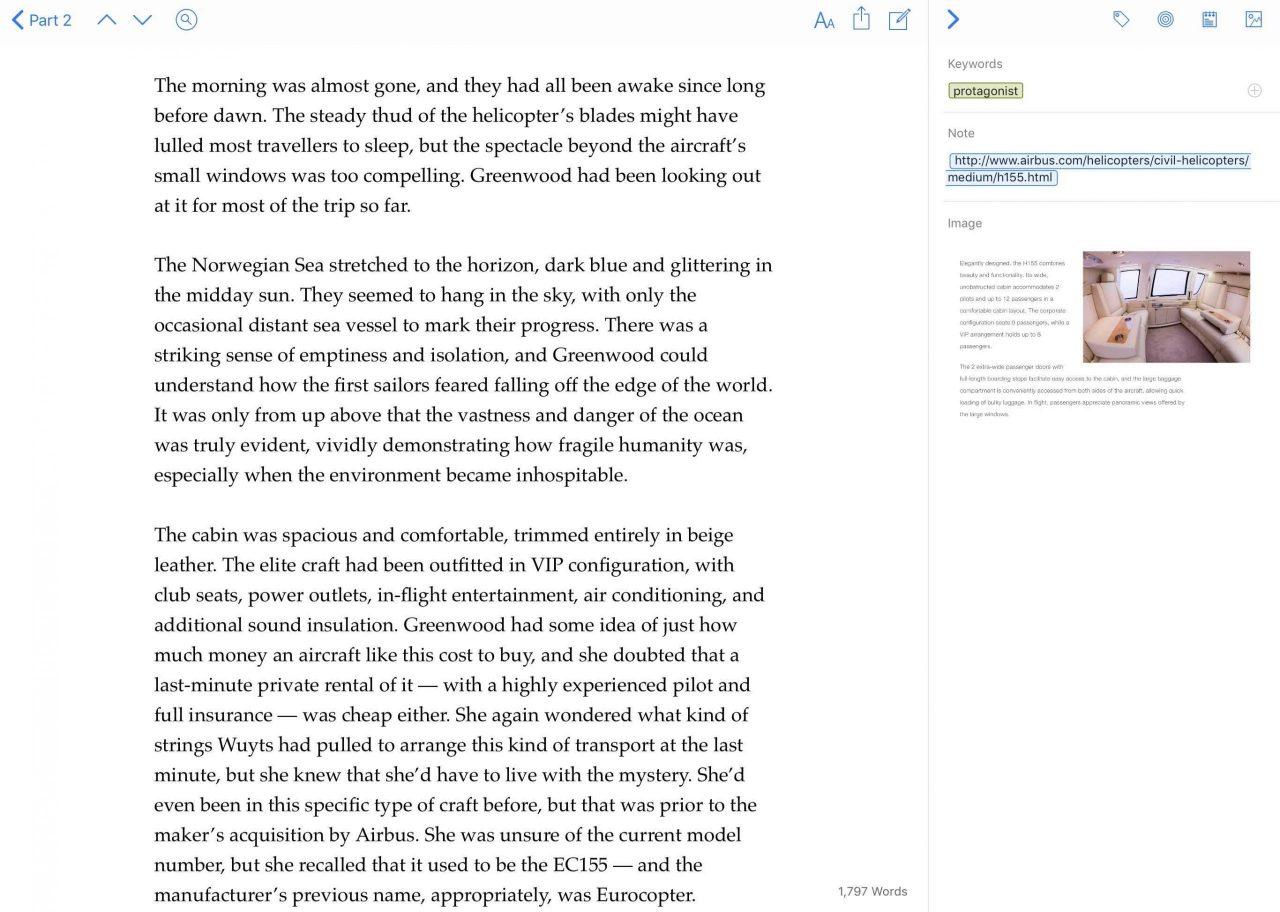 Novel/Book Writing Software   Ulysses