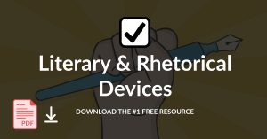 literary and rhetorical devices checklists download