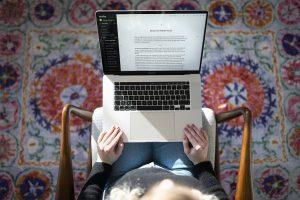Reedsy Book Editor Laptop