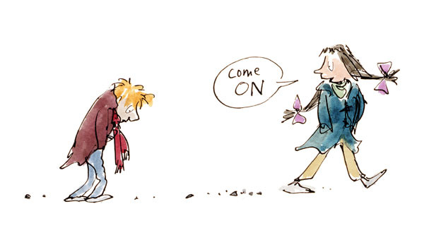how to become a children's book illustrator quentin blake
