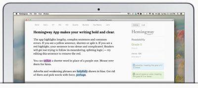 The Hemingway App for desktops
