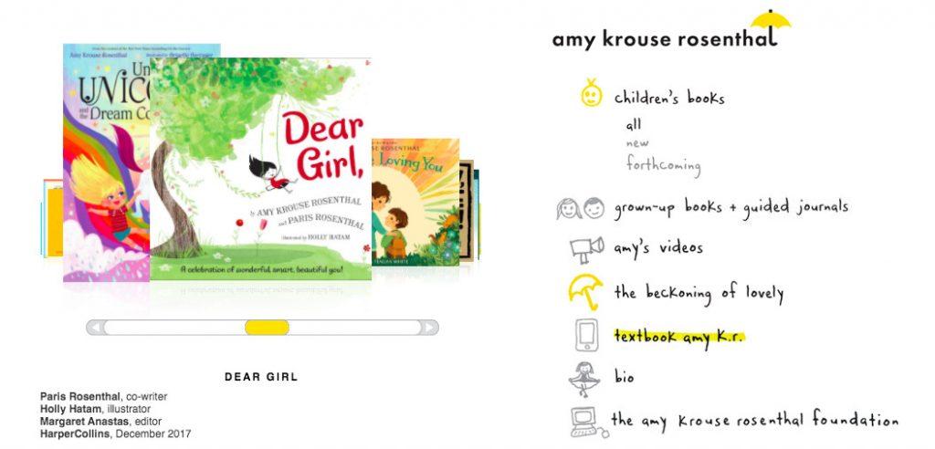 children's book illustrator portfolio example. Portfolio of amy rosenthal