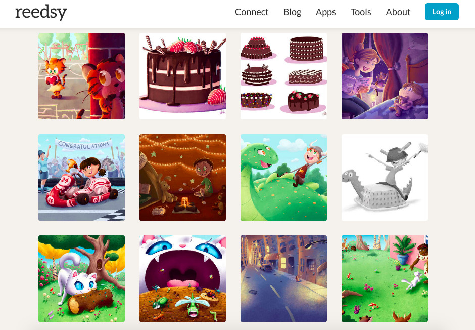 portfolio of children's book illustrator