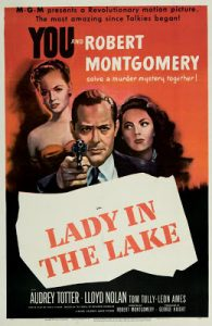 Lady in the Lake Philip Marlowe movie poster