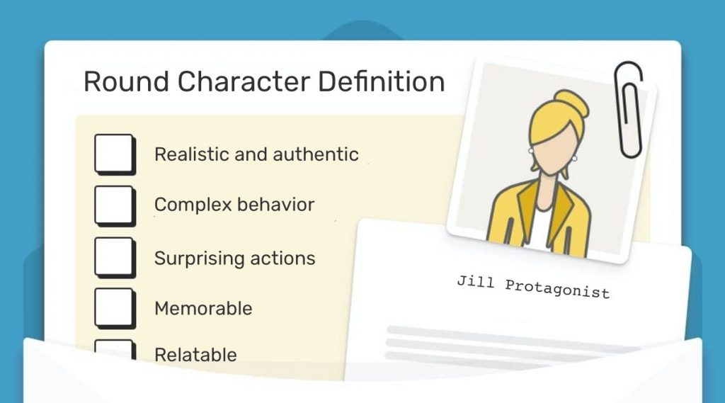 What is a round character? | Round character definition