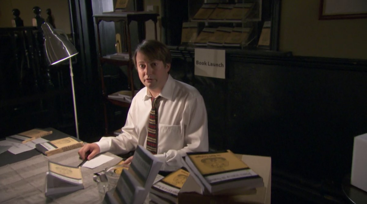 Mark from TV's Peep Show becomes an indie author