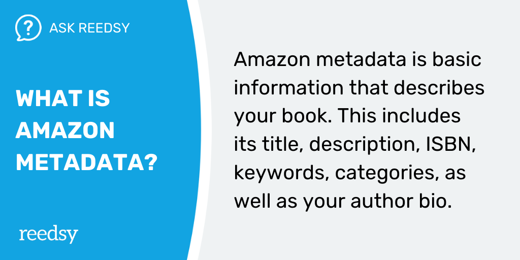How to Publish a Book | What Is Amazon Metadata?