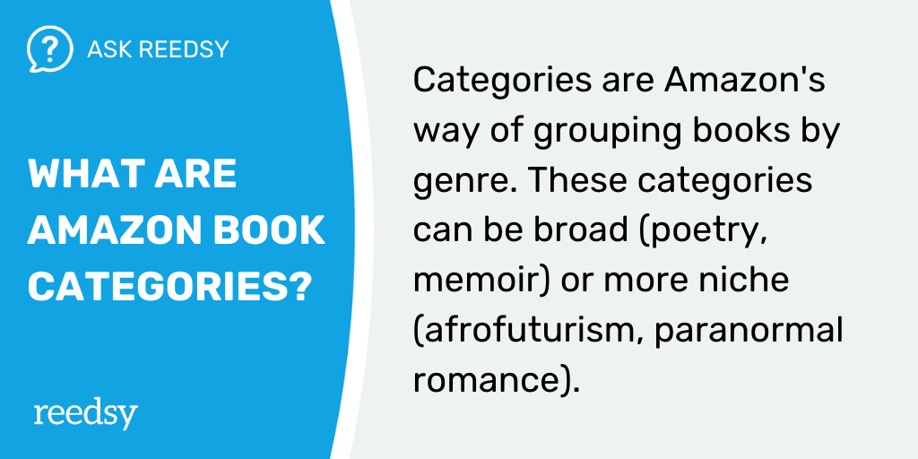 How to Publish a Book | What Are Amazon Book Categories?