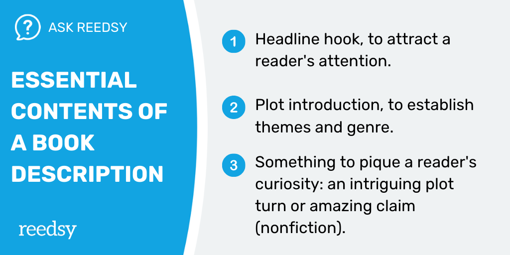 How to Publish a Book | Essential Contents Of A Book Description