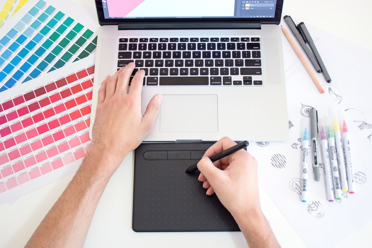 How to Become a Freelance Illustrator | Digital and Paper Design