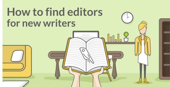 How To Find Editors for New Writers | Featured Image