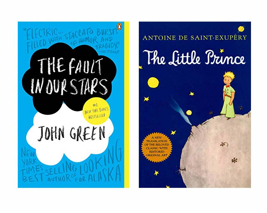 What Is Typography | Some standalone books like The Fault in Our Stars and The Little Prince use iconic typefaces