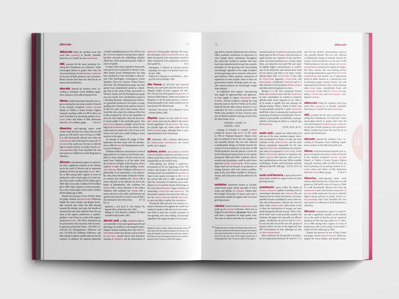 book layout