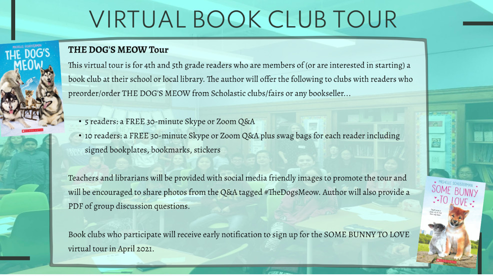 Marketing for Middle Grade Book Tour