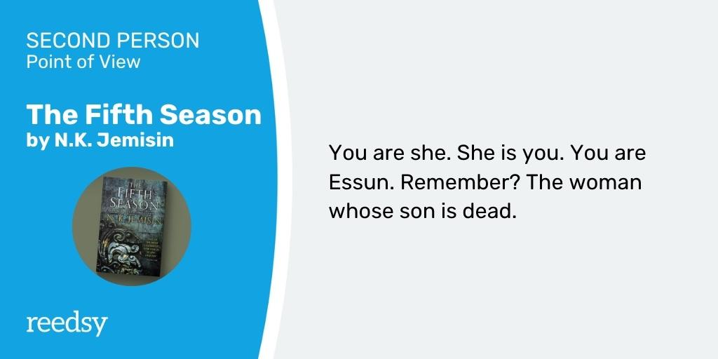 Second Person POV example | The Fifth Season
