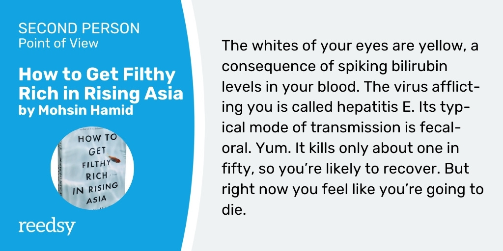 Second Person POV example | How to Get Filthy Rich in Rising Asia
