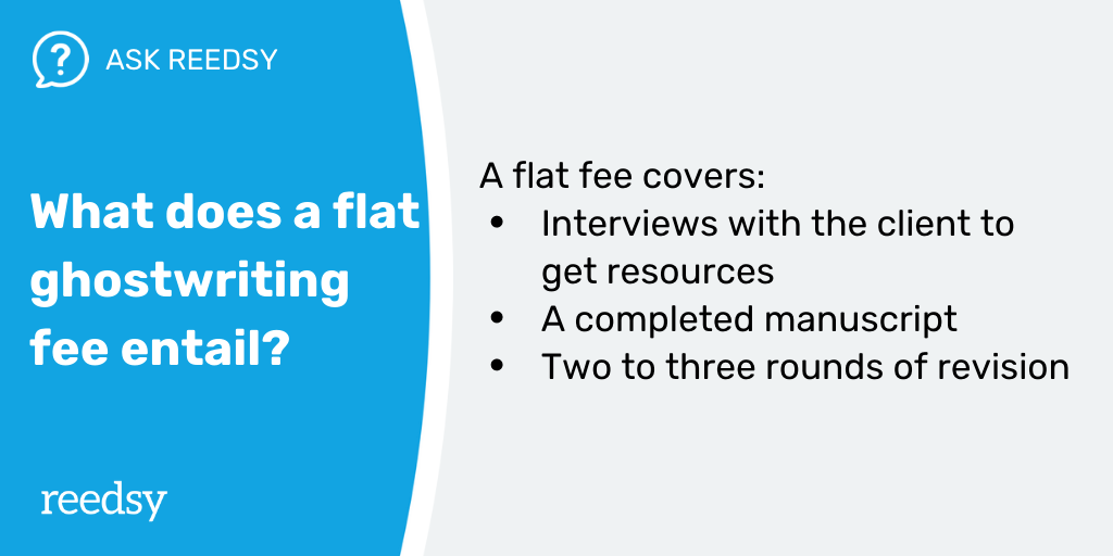 How Much Do Ghostwriters Make   Flat Fee