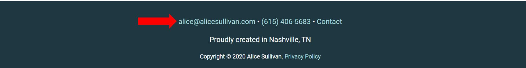 Start Freelance Writing   CTA Bottom of Alice Sullivan's Website