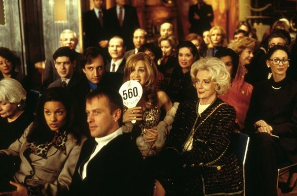 How to Get a Book Deal   Auction scene from the First Wives Club