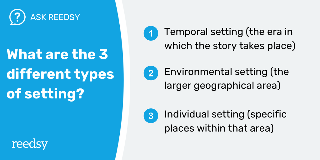 what are the 3 types of setting?